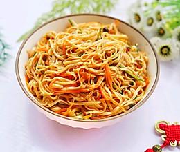 #爽口凉菜,开胃一夏!#黄磊老师同款拌面的做法