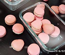 草莓马卡龙---恋爱的味道的做法