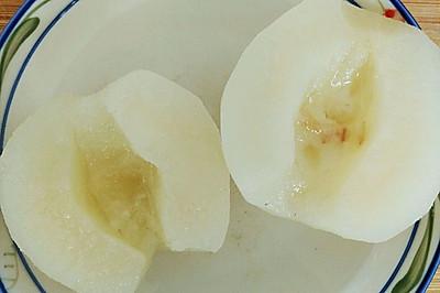 冰糖蜂蜜蒸梨(祛痰止咳)