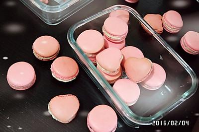 草莓马卡龙---恋爱的味道