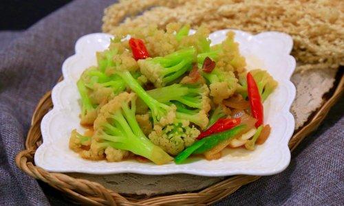 • 干锅花菜• 好吃的秘诀的做法