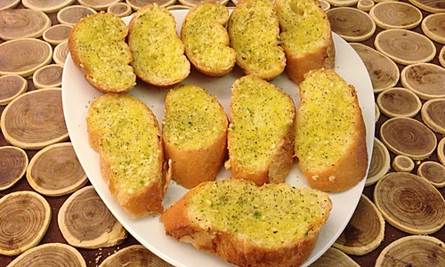 法式香蒜面包的做法