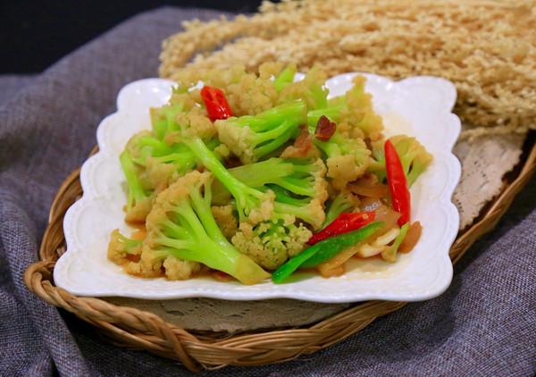 • 干锅花菜• 好吃的秘诀