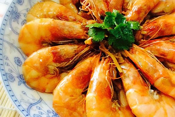 美味熇大虾的做法