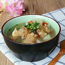 羊蹄萝卜汤#松下饭煲年味#