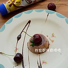 之巧克力布丁#雀巢鹰唛炼奶#