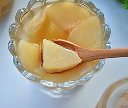 糖水桃罐头的做法