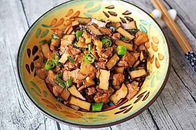 下饭菜|香干炒五花肉