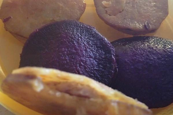 地瓜肉饼的做法