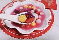 色泽鲜艳 香甜软糯 水果汤圆的做法