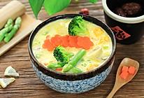 豆浆蔬菜浓汤的做法