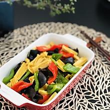腐竹青椒炒素(美善品) 净素食