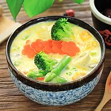 豆浆蔬菜浓汤