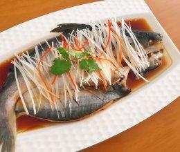 清蒸鱼好吃与否主在选鱼。的做法
