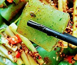 自制黄瓜凉粉的做法