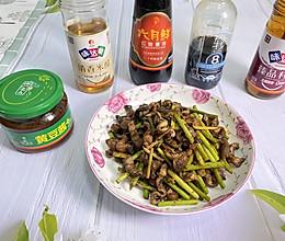 #助力高考营养餐#蒜苔炒鳝丝的做法