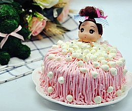 不会裱花的同学来做泡泡浴蛋糕吧的做法