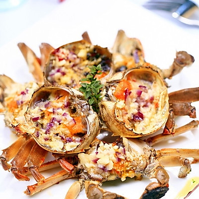 黄油焗螃蟹