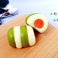 三彩小面包#柏翠辅食节-营养佐餐#