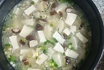 香菇豆腐肉沫羹的做法