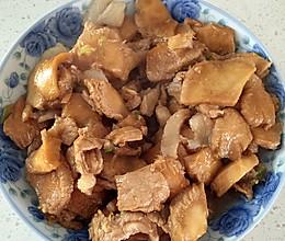 猴头菇炒肉的做法