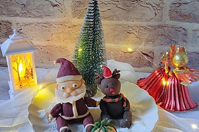 吃不完的红薯,做一做圣诞红薯饼