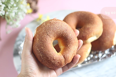 9分钟快熟,低油,低脂,低糖,非油炸版甜甜圈!