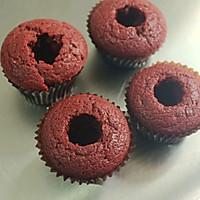 红丝绒cupcake的做法图解16