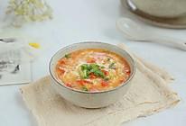 西红柿鸡蛋疙瘩汤的做法