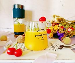 #助力高考营养餐#橙香荔枝气泡水的做法
