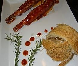 茄汁大虾——豆果美食的做法