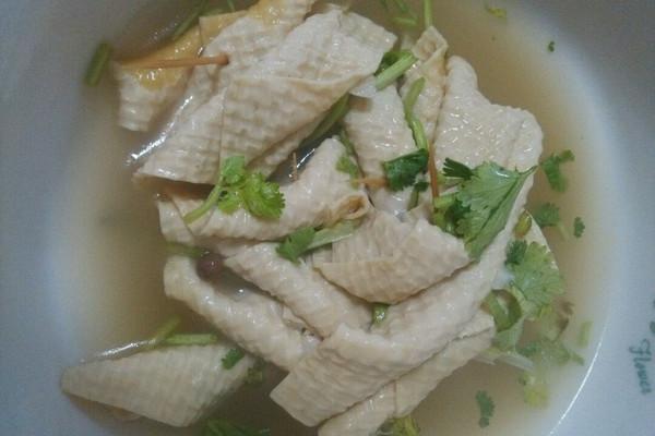 鸡汤豆腐串的做法