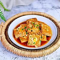 #憋在家里吃什么#茄汁鹌鹑蛋酿豆腐的做法图解11