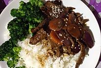 黑椒牛肉饭的做法