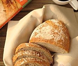 5分钟面包(4)-低成分全麦面包light whole wheat bread的做法