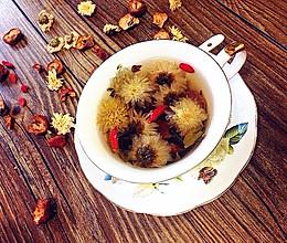 菊花山楂绿茶---夏日降火清脂的做法