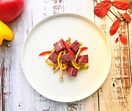 香煎牛肉粒#精品菜谱挑战赛#的做法