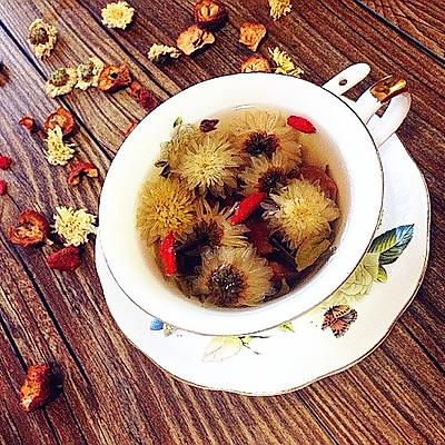 菊花山楂绿茶---夏日降火清脂