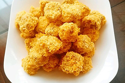 用杏鲍菇做素鸡米花