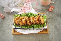 #硬核菜谱制作人#酥炸虾泥茄盒的做法