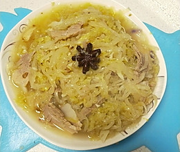 东北菜~猪肉炖酸菜的做法