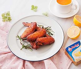 蒜香黄油烤鸡翅的做法