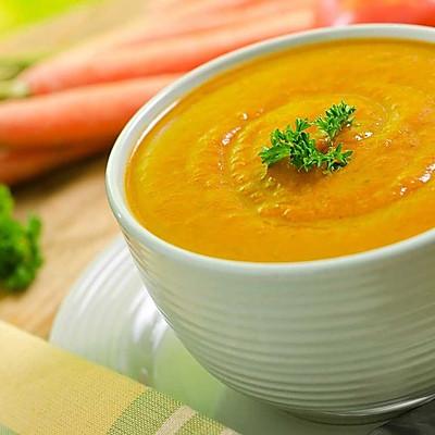 【老皮的亲子厨房】香浓胡萝卜汤