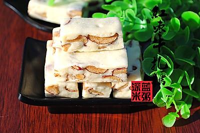 迎新年:手工红枣牛轧糖