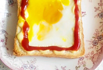 太阳蛋吐司的做法