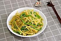 顺家私房菜——蚝油青椒土豆丝的做法