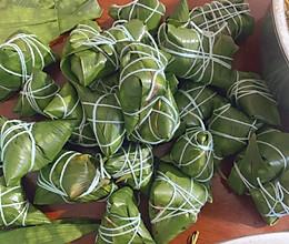 超好吃的红豆腊肉粽的做法