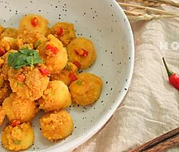看一眼就收藏的家常菜:金沙豆腐的做法
