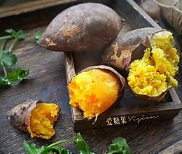 微波炉烤红薯#10分钟早餐大挑战#的做法