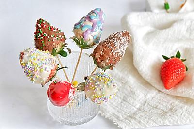 情人节巧克力草莓
